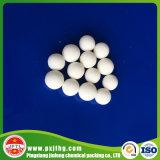 Bola pura del alúmina de Jinfeng el 99% para los media del soporte del catalizador