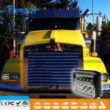 DOT Aprobado 4X6 pulgadas 12V 55W el faro de LED para camiones
