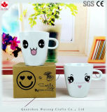 Do copo barato da cerâmica do preço do logotipo caneca engraçada personalizada
