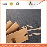 A fábrica direta projeta o bom Tag do cair do vestuário do papel do preço