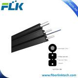 Le schéma de fibre optique extérieur 8 fil de câble d'interface de FTTH de Plat-Acier