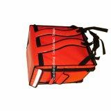 Kundenspezifischer wasserdichter Roller-Rucksack-thermischer Nahrungsmittelanlieferungs-Beutel der Plane-2018