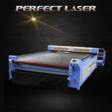 Cortadora de cuero de acrílico del laser de la tela de la venta caliente con el sistema de control del Rd