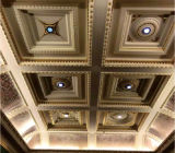 Nuevo azulejo cuadrado del techo del techo Panel/PVC del PVC del diseño del alto grado