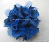 Мода головные уборы шифон ремесел многоцветные цветы декоративные аксессуары для одежды