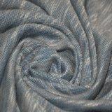 225gsm Rayon/Poli Piqué Fabric com Slub para roupa