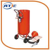 20 galloni Rotolare-Circa l'apparecchio a getto di sabbia, artificiere portatile leggero della sabbia