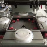 Automatische Plastikmittagessen-Kasten-Kappen-Bildschirm-Drucken-Maschine