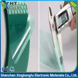 Cinta verde adhesiva del animal doméstico del silicón de alta temperatura de la alta calidad