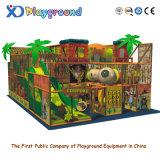 Terrain de jeux doux d'intérieur approuvé de la CE, cour de jeu d'intérieur de gosses