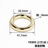 최신 판매 금속 아연 합금 부대를 위한 둥근 반지 버클은 분해한다 벨트 죔쇠 신발 가죽 상품 부속품 (YK885)를