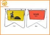 Изготовленный на заказ предупредительный знак качания движения печатание с гальванизированным или порошком покрытием