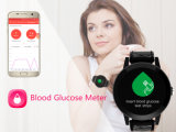 Reloj elegante de la prueba SIM de la glucosa de sangre de Bluetooth