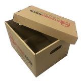 Cartons de papier mobiles ondulés cubiques de première vente avec l'impression de logo