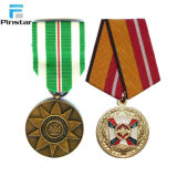 カスタマイズされた金属のブランクの骨董品メダルハンガー
