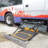 セリウムはバス油圧車椅子用段差解消機のための車椅子の揚げべらを切る