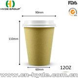 Кофейная чашка бумаги волокна 12 Oz устранимая Bamboo