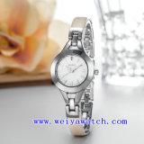 Image de marque personnalisée Watch de Luxe en alliage de Mesdames Watch (WY-041A)
