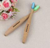 環境に優しい生物分解性の剛毛の有機性自然な木炭によって注ぎこまれるタケ歯ブラシ