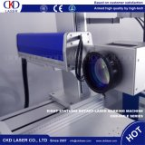 машина маркировки лазера волокна 30W с автоматическим роторным цыпленком