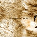 100%Polyester Disperse льва 3D напечатал ткань для комплекта постельных принадлежностей