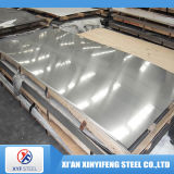 Chapa de aço inoxidável laminada de 321 metais