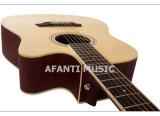 """Chitarra acustica di Asperata 41 del Picea di musica di Afanti """" (AAG-117)"""