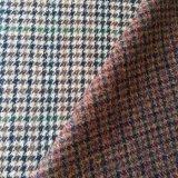 100% Lana fantasía coloridos tejidos de lana inglesa de Tweed, Gran Bretaña estilo tejido de lana 450G/M