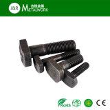 Boulon Shaped DIN787 de l'oxyde T de noir d'acier du carbone de la pente 8.8