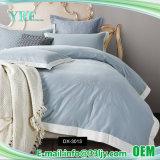 Отель класса люкс вышивки королева хлопка две односпальных кровати листов
