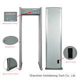 Detector de metales inteligente del recorrido de la seguridad del tacto de 6 zonas con el LED para el control de seguridad Xld-a