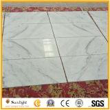 El blanco chino colorea la piedra de los mármoles, nuevos azulejos de mármol blancos baratos
