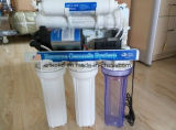 RO는 백색 명확한 급수 여과기 주거의 부속품을 설치한다