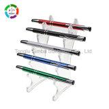 Chaud-Vente de la papeterie en aluminium de bureau de crayon lecteur d'aiguille de stylo à bille pour le cadeau promotionnel