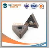 Carbide rodando os insertos com revestimento de DCV PVD