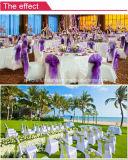 De Dekking van de Stoel van de Polyester van het Huwelijk van de luxe voor Banket/Restaurant/Hotel/Partij