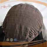 Auf lager preiswerte lange Frauen Glueless Perücke (PPG-l-0542)