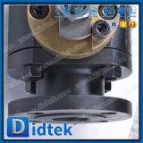 Kogelklep van het Ontwerp van de Brand van Didtek de Veilige Drijvende Metaal Gezette