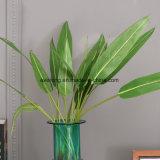Planta de bambu artificial da venda quente, folhas artificiais do bambu para a decoração