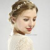 Кристально чистый звук Свадебные аксессуары для волос с головной стяжкой имитация Pearl устраивающих волосы виноградной Hairbands Короны (CR-07)