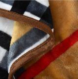 Venda por grosso de 100% de poliéster Supe flanela macia manta de lã
