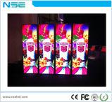 P3mm LED dell'interno che fa pubblicità alla visualizzazione di LED del basamento del manifesto del giocatore della visualizzazione