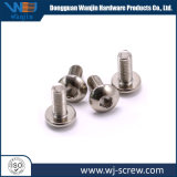Précision OEM Hot Sale placage argent ronde vis à tête hexagonale