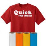 t-셔츠를 위한 연약한 탄력 있는 절단 열전달 비닐
