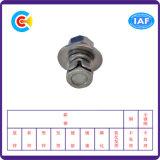 DIN/ANSI/BS/JIS Carbon-Steel/Extranjero2-70 Stainless-Steel una combinación de cinco tornillos de cabeza avellanada