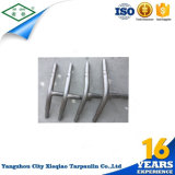 Tenda di alluminio esterna del Palo del coperchio di PVC da vendere
