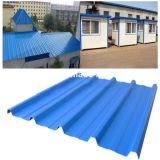 Гофрированные стальные листа крыши