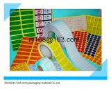 Feuille ou roulis auto-adhésive de collant de papier de couleur