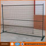Einfacher Zaun-beweglicher temporärer Baustelle-Zaun