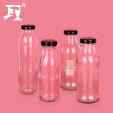 Glassaft-Flasche mit Metallschutzkappe